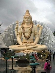 Shiva, statue in Bangalore