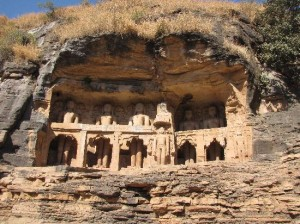 Jain carving and caves