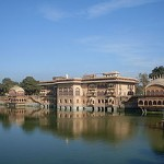 Deeg Palace or Jal Mahal in Deeg